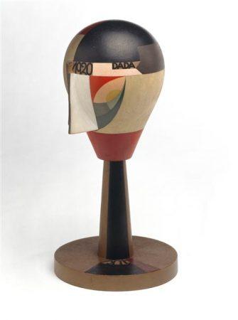 Tête dada Sophie Taeuber Arp | wooden sculpture 1920